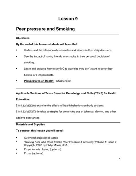Peer Pressure Worksheets by Worksheets Peer Pressure Worksheets Opossumsoft