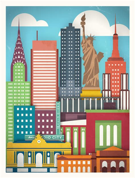 graphics design nyc touristique 5 of the most famous cities in the world