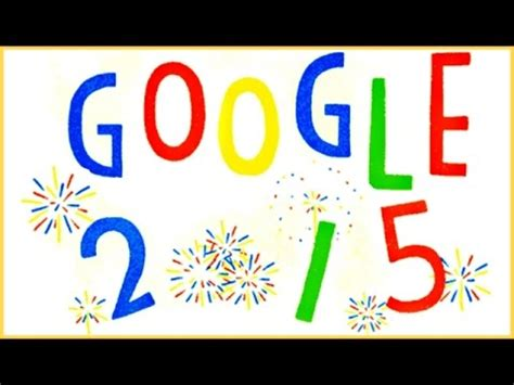 doodle for 2015 sign up ᴴᴰ happy new year 2015 new year day animated