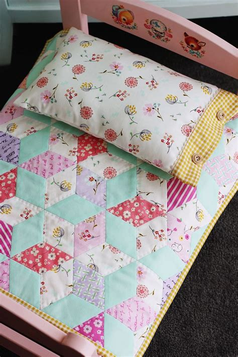 Doll Quilt Pattern by The Sweetest Doll Bed Dolls And More