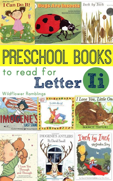 the focused beginnings books preschool books for letter i wildflower ramblings