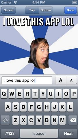 Iphone Meme App - meme apps for iphone generate memes on ios