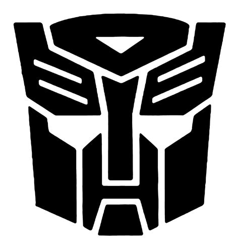 Sticker Transformer Autobot T001 transformers autobot vinyl decal bumper sticker by writeathome