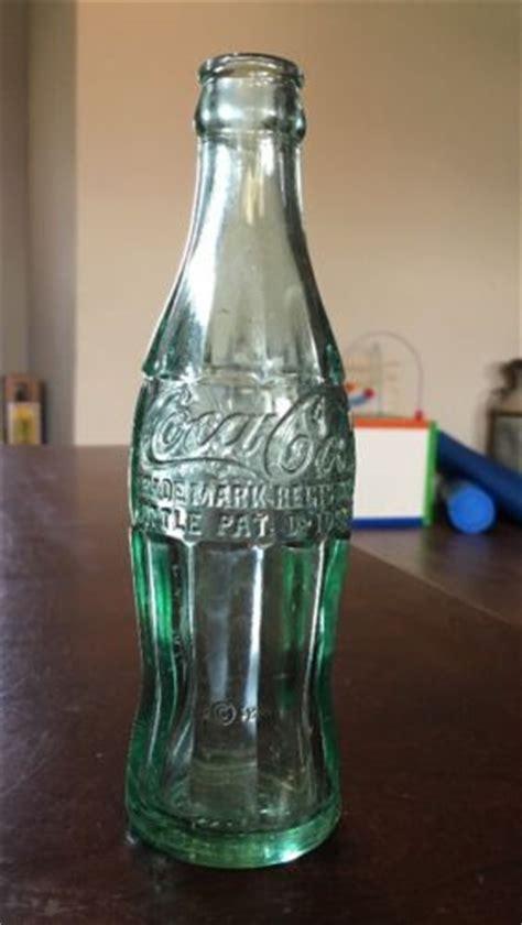 vintage pat d105529 clarendon texas coca cola soda bottle hobble skirt clean antique price