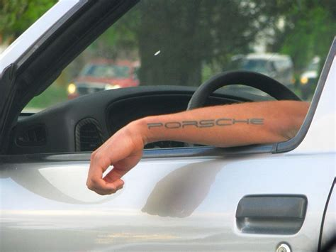 porsche tattoo designs porsche look at me porsche