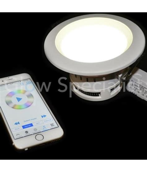 wifi led recessed lights wifi led built in downlight glow specialist