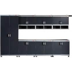 rubbermaid garage storage cabinets rubbermaid fasttrack garage laminate 7 piece cabinet set