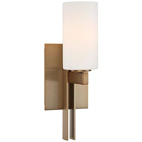 Possini Wall Sconce possini ludlow 14 quot high burnished brass wall sconce 8y163 www lsplus