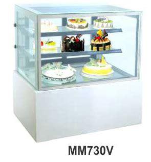 Es Krim 8 Liter Khusus Gosend jual mesin pemajang kue kaca datar rectangular cake showcase kapasitas 270 liter mm730v