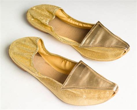 fancy house slippers vintage 1960s metallic gold lam 233 quot i dream of jeannie quot house slippers