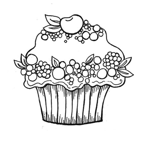 big cupcake coloring page free cupcake coloring pages coloring home