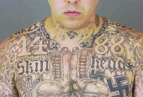 white supremacist tattoos defining extremism a glossary of white supremacist terms