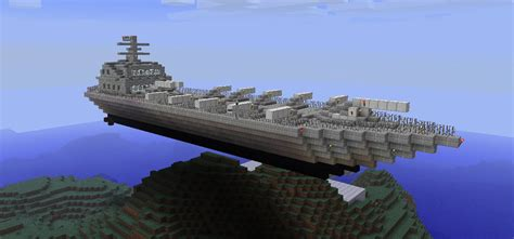 minecraft boat construction gns warship minecraft project