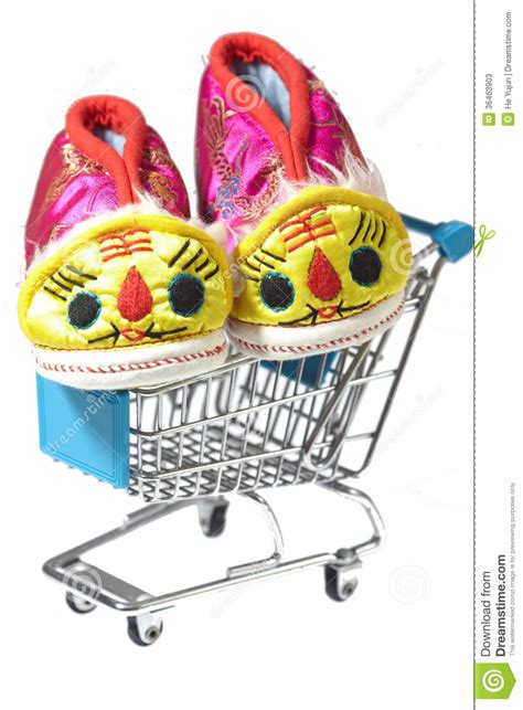baby shoes shopping tiger baby shoes stock photos image 36463903