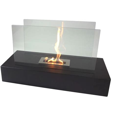 Freestanding Ethanol Fireplace by Nu Fiamme 31 5 In Freestanding Decorative Bio