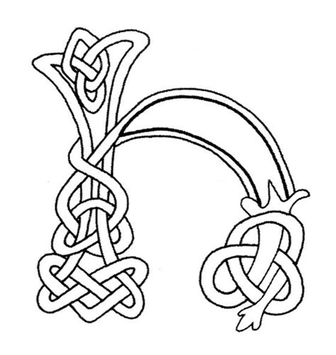 celtic letter coloring page coloring pages of fancy alphabet letters coloring pages