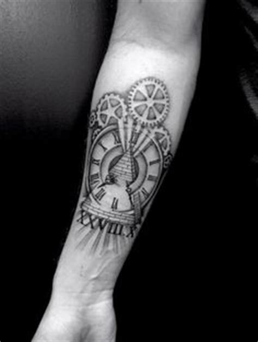 liam payne clock tattoo roman numerals roman numeral tattoos and side tattoos on