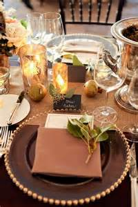 Table Setting Ideas For Fall Wedding 62 Tablescapes Happywedd