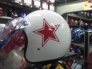 Bogo H K Merah helm vespa bogo bintang merah helm vespa
