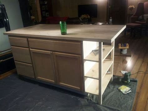 homemade kitchen island plans 25 best ideas about build kitchen island on pinterest
