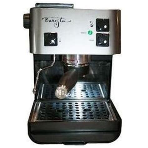 Starbucks Barista 85 Ounce Stainless Steel Aroma Espresso Machine by Saeco 285647 Reviews