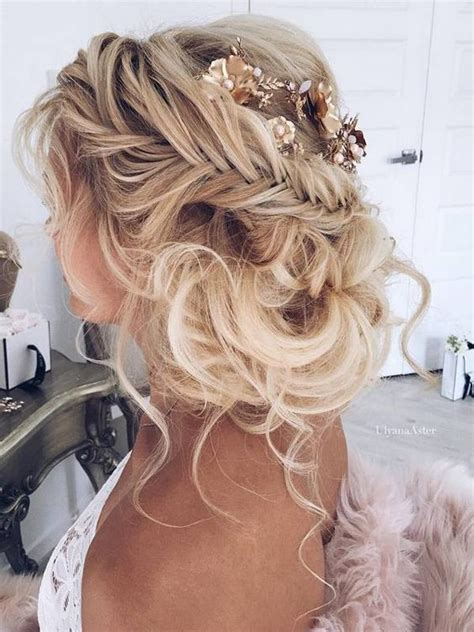 Wedding Boho Updo by 41 Trendy And Chic Wedding Hairstyles Weddingomania