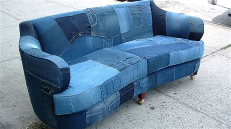 craigslist ny sofa denim sofa made in brooklyn makes craigslist sensation