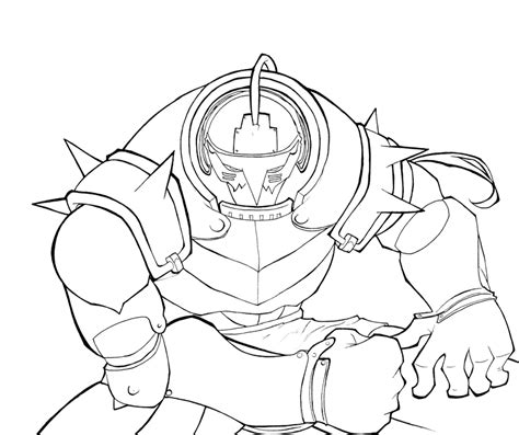 fullmetal alchemist coloring pages coloring home