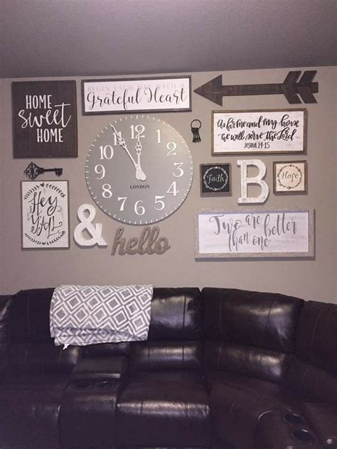 home decor supplies best 25 rustic gallery wall ideas on pinterest