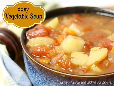 easy vegetable soup sweet pea