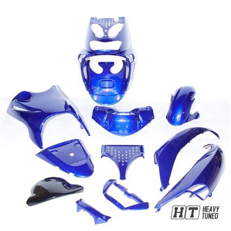 Roller Verkleidung Aufkleber Entfernen by Verkleidungsset 11 Tlg Mxt F 252 R Aprilia Sr50 125 Blau