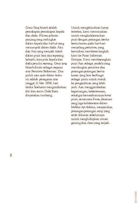 layout buku puisi jual buku cinta yang marah kumpulan puisi oleh m aan