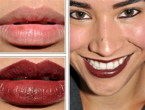 Serum White Ertos brown black velvet lip color black maple black