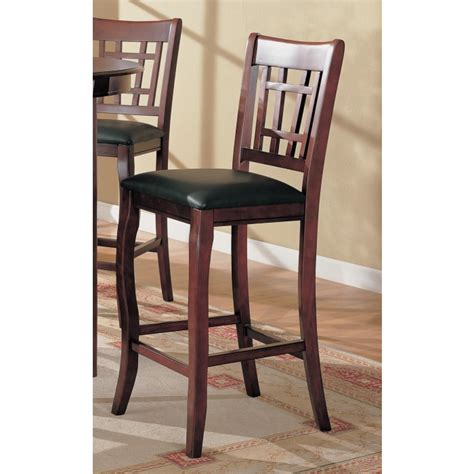 Dining Room Chairs Bar Height Cherry Counter Height Chair 100510 Side Chairs