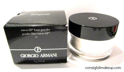 Harga Giorgio Armani Micro Fil Powder review micro fil looose powder nr0 giorgio armani