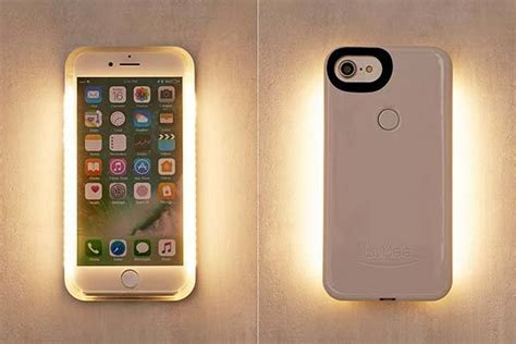 lumee perfect selfie ii iphone  case gadgetsin