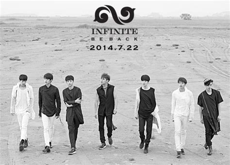 Infinite 2nd Album Repackage Be Back infinite jpopasia