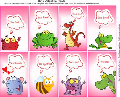 valentines cards for school printable s day cards valentines day ideas