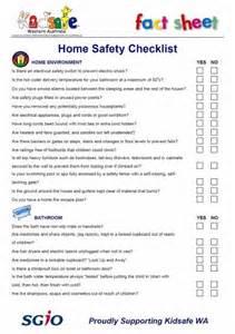 home safety checklist home safety checklist what a safety