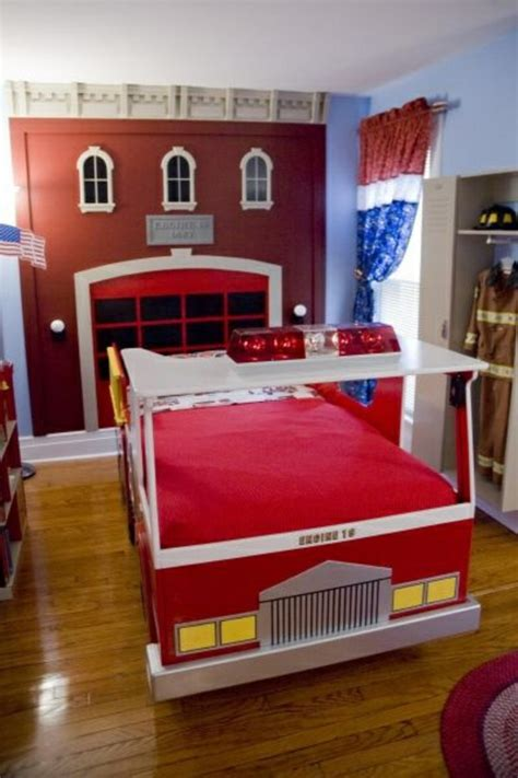 Kinderzimmer Gestalten Junge Feuerwehr by 125 Gro 223 Artige Ideen Zur Kinderzimmergestaltung