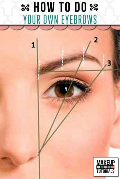 7 Tips To Shape Your Brows Like A Pro by Best 25 Eyebrow Makeup Tutorials Ideas On