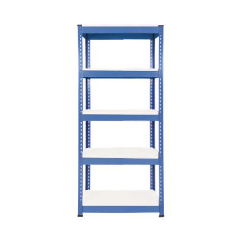 Rapid Rack by Rapid 1 1980h X 915w Blue With 5 Melamine Shelves