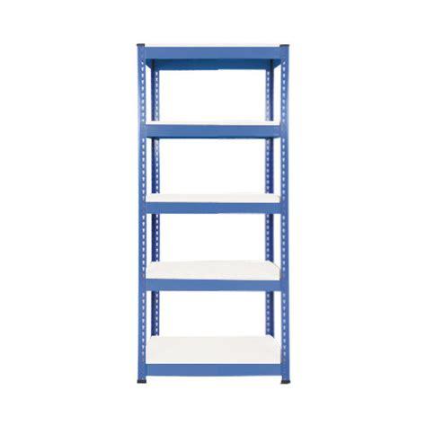 rapid 1 1980h x 915w blue with 5 melamine shelves
