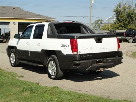 avalanche seats for sale purchase used 2004 chevrolet avalanche z71 4wd sunroof