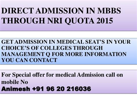 Direct Admission In Top Mba Colleges 2015 by Nri Quota Admission Procedure Ms Ramaiah College