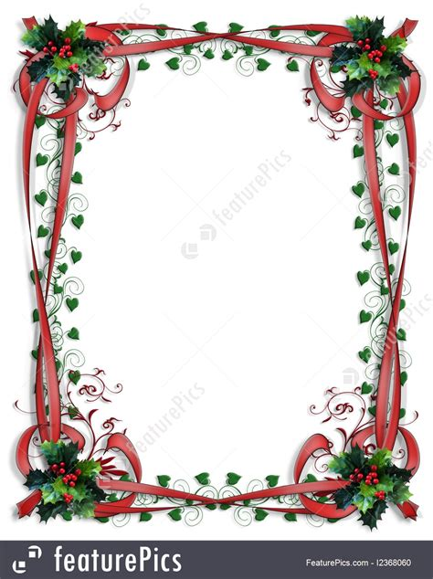 Online Landscape Design Software holidays christmas holly border ribbons frame 3d stock