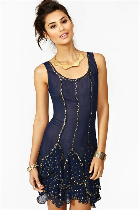 who is the gal in the blue dress in the viagra commercial nasty gal deco sequin dress in blue navy lyst