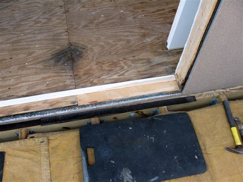 sealing exterior doors sealing door threshold best technique windows