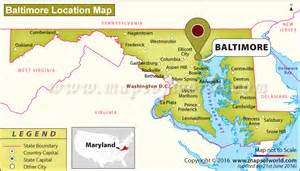 usa map baltimore md where is baltimore located in maryland usa