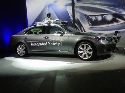ces 2013 lexus driverless car technology alone is not